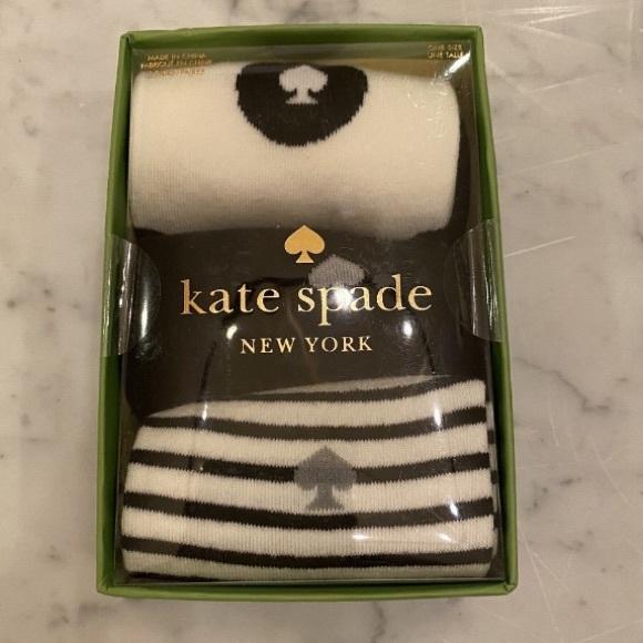 NIB Kate Spade 3 Pack Crew Socks